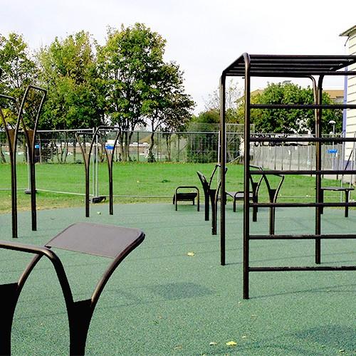 Gadehavegård træning område udendørs fitness