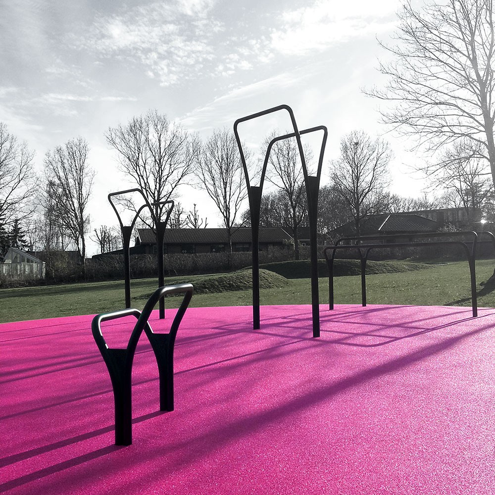 Spirerne Herning Outdoor gym equipment