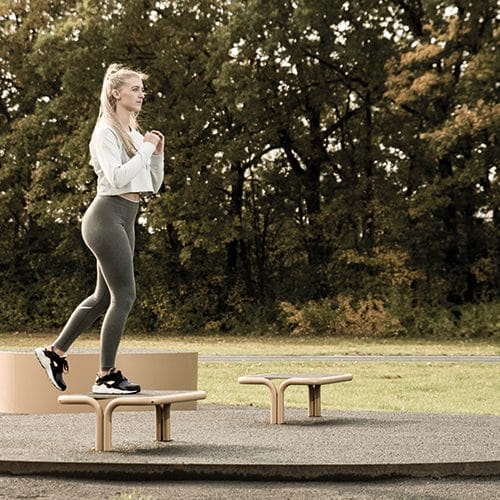 Outdoor gym equipment – aerobic