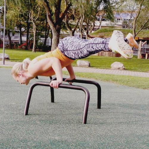 Mini parallel fitness outdoor