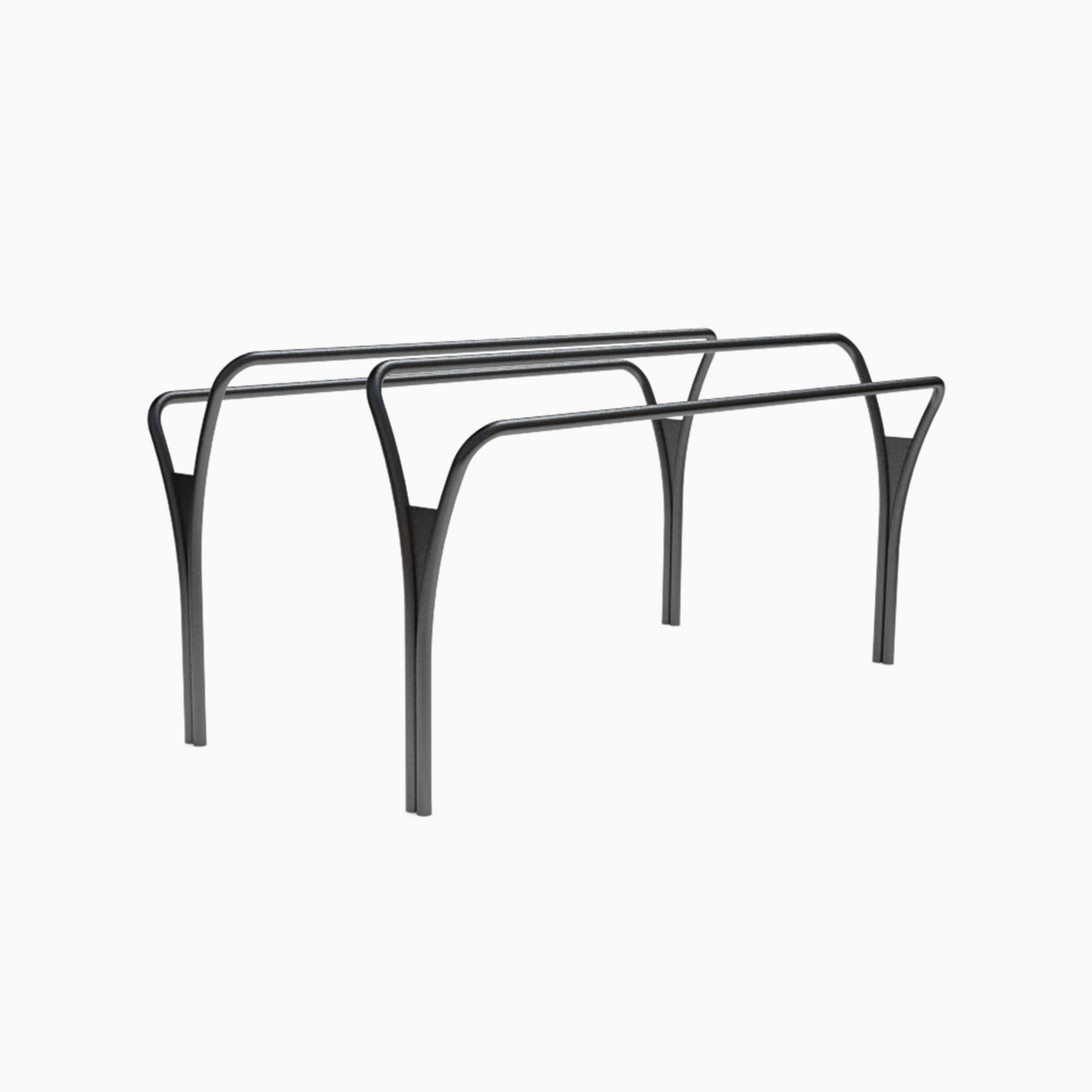 outdoor fitness equipment parallel bar noord